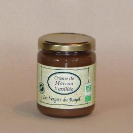 Crème de Marron d'Ardèche vanillée 320gr