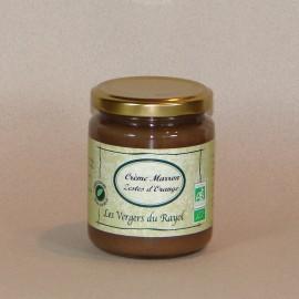 Crème de Marron d'Ardèche zestes d'Orange 320gr