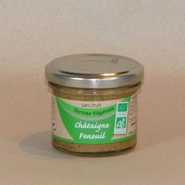 Terrine végétale Châtaigne d'Ardèche / Fenouil 100gr
