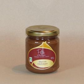 Pâte à tartiner Châtaigne d'Ardèche / Chocolat / Noisette 250gr
